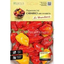 Люти чушки Карибски - mix 10 вида - Chilies Caribbean