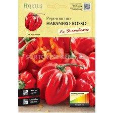Люти чушки Хабанеро червени (Peperoncino Habanero rosso) - Chilies Habanero red