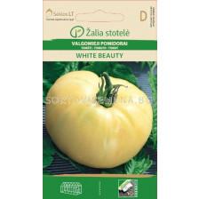 Семена домати Бяла красота (TOMATO WHITE BEAUTY) 'SK - 0,1 г