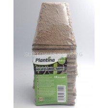 Плантина биоразградими саксийки за разсад 8х8см - 18бр