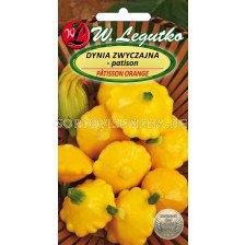 Семена Тиквички патисон- оранжеви / Squash Pâtisson orange /LG 1 оп