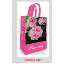 Божур Rose 2/3 подаръчна чанта - Peony Rose 2/3 gift bag