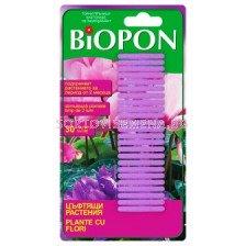Биопон - торни пръчици за цъфтящи растения - Biopon - fertilizer sticks for flowering plants