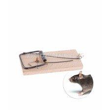 Дървен капан за мишки