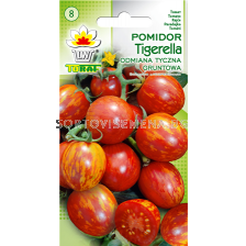 домати чери Tigerella - 0.5г - tomato cherry Tigerella - 0.5g