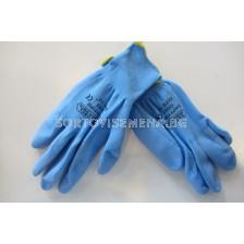 Градински ръкавици гумирани
