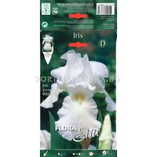 Ирис бял / Iris germanica white / 1 оп ( 1 бр )