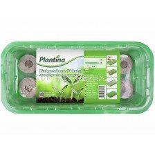 Plantina Саксии за разсад Мини оранжерия 10 дупки + таблетки
