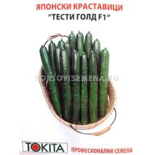 Семена краставици Тести Голд F1 - cucumber Tasty Gold F1