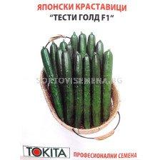 краставици Тести Голд F1 - cucumber Tasty Gold F1