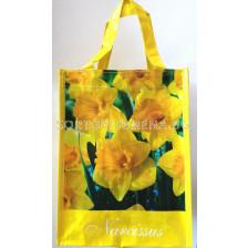 Подаръчна чанта нарциси в жълто LSCH - Gift bag daffodils in yellow LSCH