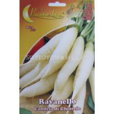 репички Бели дълги - radish white long
