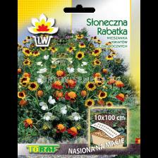 Микс от семена за цветя на лента (10 х 100см)