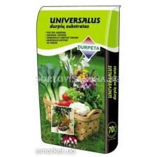 Универсален субстрат за зеленчуци и цветя Durpeta