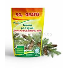 Водоразтворим тор против покафеняване на иглолистни Planta