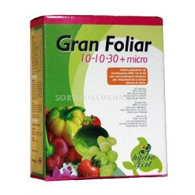 Гран Фолиар 10-10-30 + Микро - Gran Foliar 10-10-30 + Micro