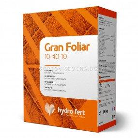 Гран Фолиар 10-40-10 + Микро - Gran Foliar 10-40-10+ Micro