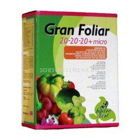 Гран Фолиар 20-20-20 + Микро - Gran Foliar 20-20-20 + Micro