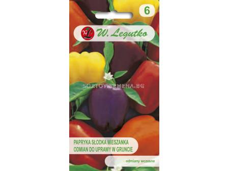 Семена Пипер калифорнийско чудо микс / Pepper Sweet mixture of blocky type varieties /LG 1 оп