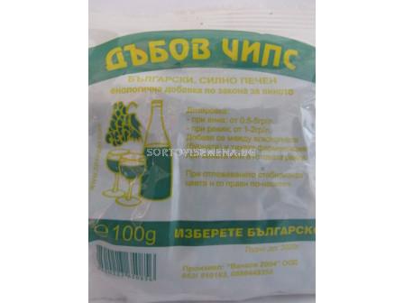 Дъбов чипс български - Oak chips Bulgarian