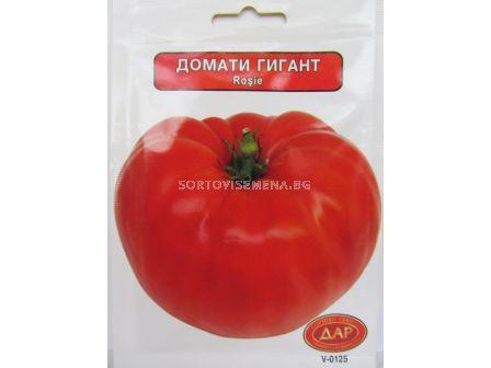 Сорт домати Червен гигант. Аграра ООД. Сортови семена Варна