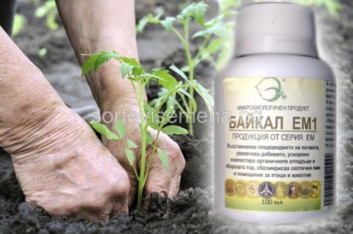 Байкал ЕМ1 - биопрепарат за подхранване на растенията